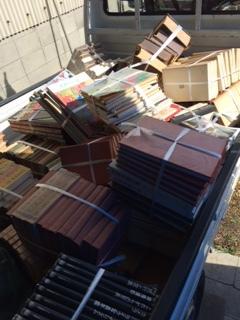 本の回収しました  岡山市中区原尾島