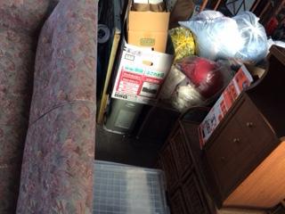 大量の布団を処分しました