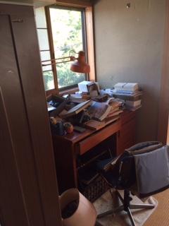 家屋 売買物件の撤去作業