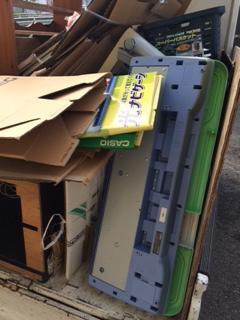 アパート引っ越しゴミの回収
