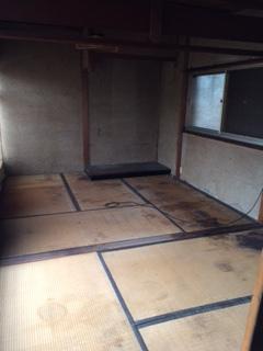 2階建て家屋の片付け