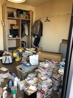 アパートの引っ越し後の不用品